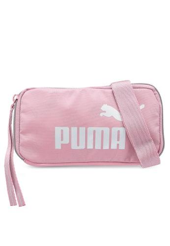 PUMA pink Women Core Up Sling Bag 0F214ACD608E2CGS_1