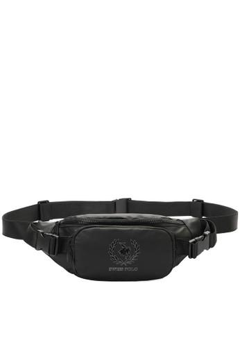 Swiss Polo grey Water Resistant Waist Bag B3863AC5895080GS_1
