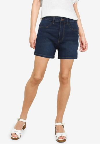 JACQUELINE DE YONG blue High Waist Denim Shorts 67DFCAADE942A6GS_1