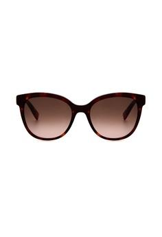 cefb8af095 Furla Furla SFU045 Havana Brown Gold Sunglasses FU454AC0RAMMMY 1