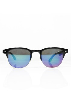 Half Flash Lens Sunglasses