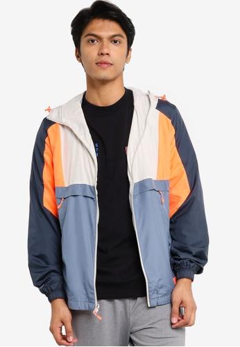 Under Armour blue UA Always On Woven Jacket 0AA8BAA0224839GS_1