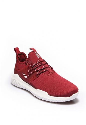 World Balance red Ascendant Women's Athleisure Shoes 19A20SHA978951GS_1