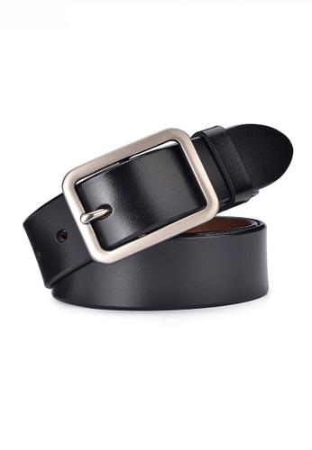 Twenty Eight Shoes black Vintage Style Pin Buckle Leather Belt JW CY-061 9C3BFAC823C3ABGS_1