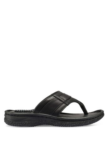 Bata black Slip On Sandals E6ACDSH1740AC6GS_1