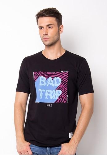 Endorse Tshirt Wl Bad Trip Black END-PF041