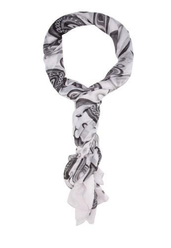 佩斯利印花圍巾, esprit outlet 台灣飾品配件, 披肩
