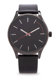 Simplify Leather Strap Analog Watch