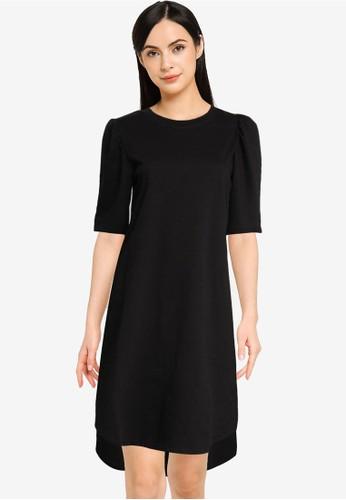 JACQUELINE DE YONG black Bine Ivy 2/4 Puff Sleeve Dress 2D7CAAA388FED0GS_1