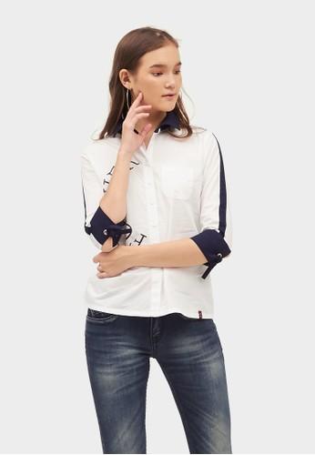 ako jeans white Short Sleeve 14-4414 CE478AA81A0A96GS_1