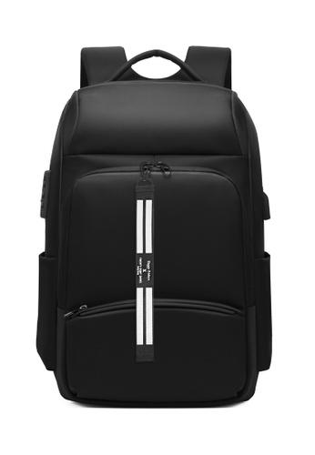 Twenty Eight Shoes black Business Laptop Backpack 2716 BC3D0AC1982101GS_1
