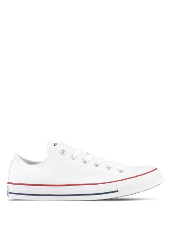 Converse white Chuck Taylor All Star Ox Sneakers CO302SH0SW98MY_1