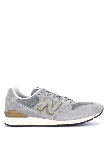 New Balance grey 996 Artisnal Vin Sneakers EA18ASHEE676AAGS_1