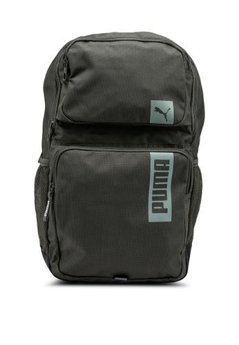Puma green Deck Backpack II F0DCAAC5B2F94EGS_1