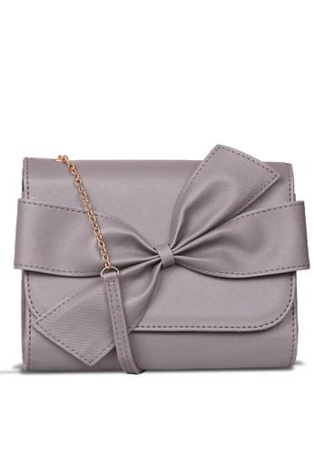 Quincy Label grey Sling Bag Tas selempang wanita Hm Pita - Abu 853B8ACF01CB98GS_1