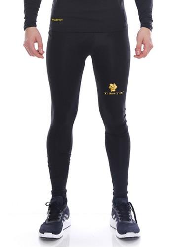 Tiento black Tiento Baselayer Celana Legging Leging Ketat Olahraga Long Pants Black Gold Men 4F8B5AAC6E704AGS_1