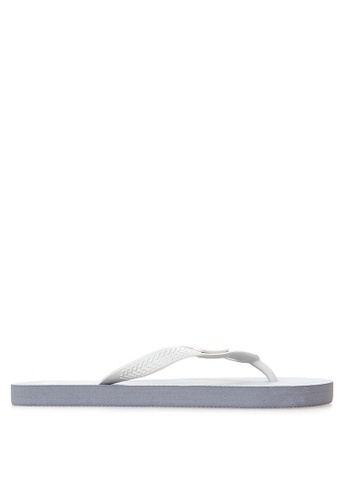 BENCH white Printed Rubber Slippers BE550SH13LTIPH_1
