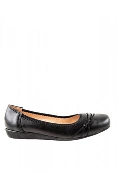 cd2ca1c0a Otto black Flat Slip-On Shoes 34EBCSH40B443CGS 1