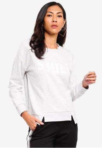 ESPRIT grey Long Sleeve Sweatshirt C4802AA9667948GS_1