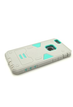Armor Hybrid Anti Shock Heavy Duty Case for Apple iPhone 6 Plus 5.5 - Grey/Green