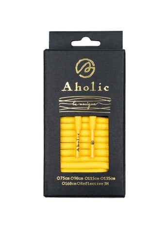 Aholic 黃色 ORIGINAL 經典圓帶 - 黃 AH662SH09XFHTW_1