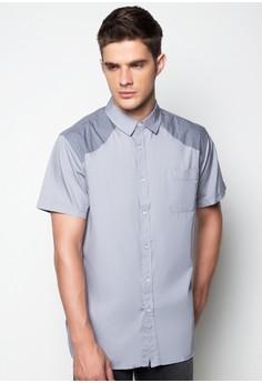 Solid Short Sleeved Shirt