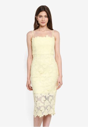 Bardot yellow Sunshine Dress BA332AA0STBJMY_1