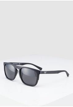 50e2e07b1b41 Emporio Armani black Emporio Armani EA4114F Sunglasses E9639GL03A41BFGS 1