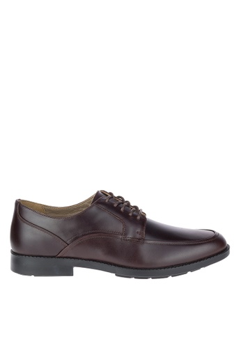 Hush Puppies brown Hush Puppies Men's Bloodhound Oxford - Dark Brown 2F4B8SHDFF43ACGS_1