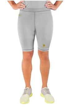 harga Tiento Baselayer Rash Guard Compression Short Pants Grey Gold Zalora.co.id