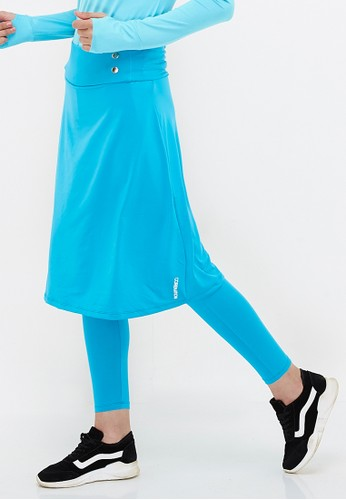 Corenation Active blue Selena Rok Legging - Turqouise 4CCE6AA4336FEFGS_1