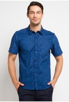 2629f82756d BRITANIA blue and multi Short Sleeve Print Shirt 8309 313AEAAB2755C6GS 1