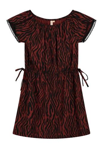Shiwi brown Havana Girly Dress 94281KAFB830BBGS_1