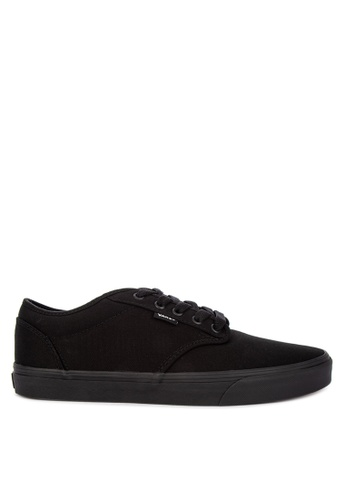 VANS black Canvas Atwood Sneakers 9C590SHE69C4D6GS_1