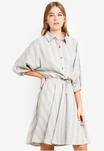 Supre multi Indie Shirt Dress 83D45AAD13E5CCGS_1