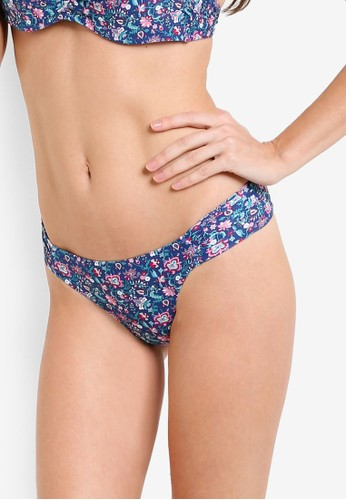 Mango multi and navy Floral Bikini Bottom MA193US42ARTMY_1
