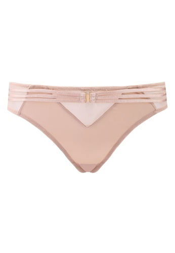 Bluebella pink and beige Laura Thong 28A9AUS9051A04GS_1