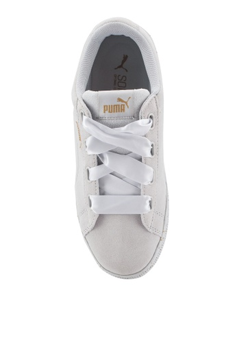 half off 7923e 05a71 Buy PUMA Core Puma Vikky Platform Ribbon Dots Shoes Online   ZALORA Malaysia