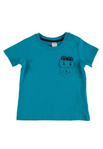 LC Waikiki green Casual T-Shirt 1E6ADKA0B2A934GS_1