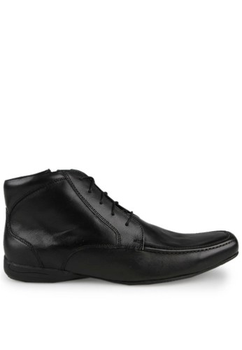 Gino Mariani black Dionix Leather Formal Shoes GI569SH56JOPID_1
