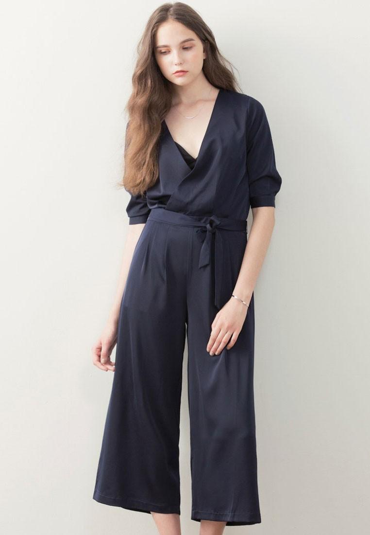 Femme Appeal Cropped Jumpsuit