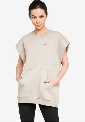 ADIDAS brown muscle sweatshirt 974E1AAC579814GS_1