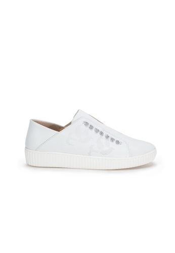 Shu Talk white Stylish Causal comfy Slip On Sneakers 0483FSH64EFEDCGS_1