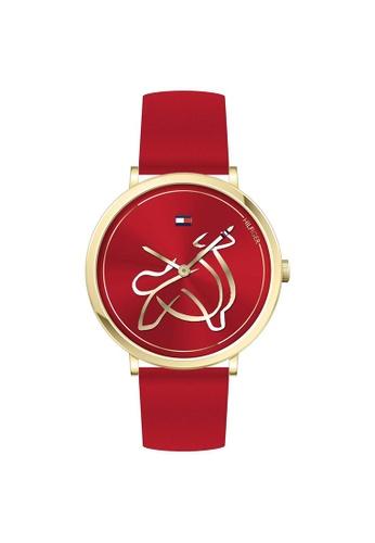 Tommy Hilfiger red Tommy Hilfiger Red Women's Watch (1720012) 06808AC06B3FFBGS_1
