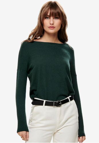 ONLY green Brenda Long Sleeve Pullover 36804AA34431B1GS_1