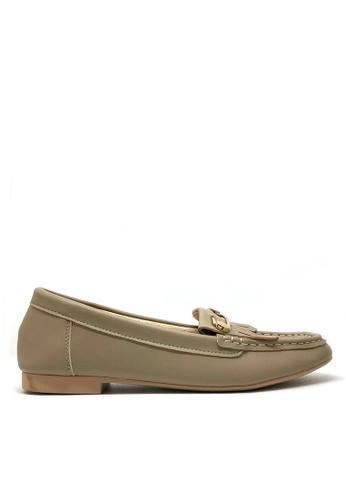 Twenty Eight Shoes 柔軟小方頭鈕子Loafers 1140-82 1B14FSH710D629GS_1