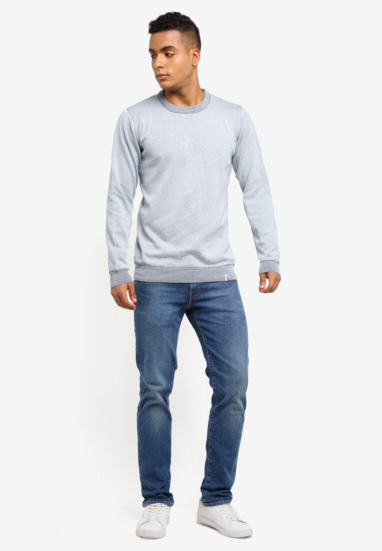 Sky Sweater Jeans Way Florian Knitted Indicode Cotton qzffvB