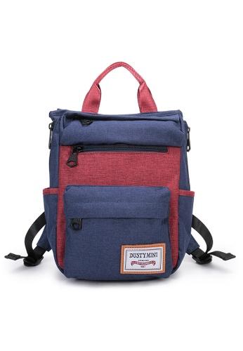 DUSTY blue Twin-bag(S) 5E5E8AC8D07B1BGS_1