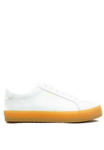 CDE white CDE Ceremonial Women Sneaker White with Gum Sole CD965SH84EPVID_1