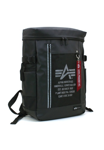 47ee122741c7 Alpha Industries black ALPHA INDUSTRIES 40121 USB Charging Function Backpack  100ADAC2DF923CGS 1